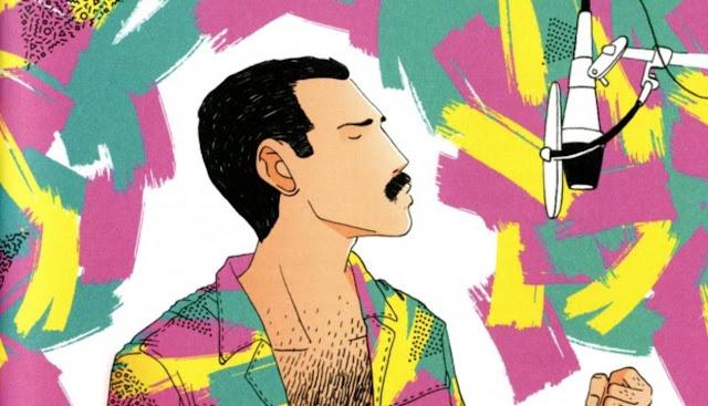 Freddie Mercury: un libro que ilustra la vida del líder de Queen