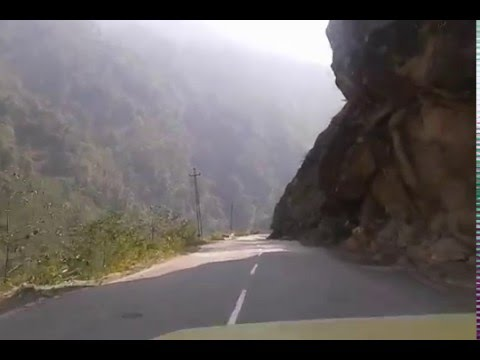 Sikkim Highway connecting Mangan with Chungthang reopened