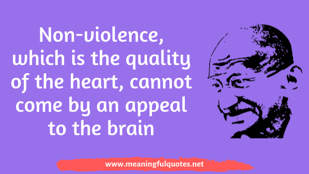 Mahatma Gandhi quotes and instagram captions