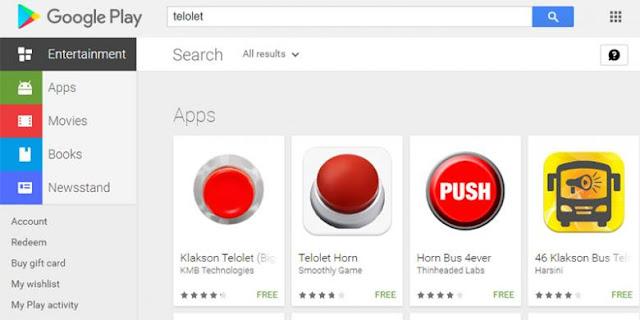 Aplikasi Om Telolet Om Penuh Di Google Play Store