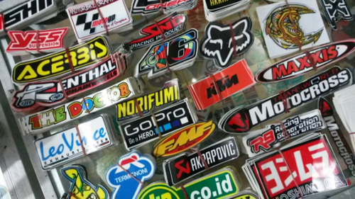 sticker balap