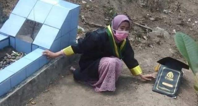 Lulus Jadi Sarjana, Gadis Yatim Piatu Ini Bagikan Keajaiban Shalat Dhuha dan Surah Al-Waqiah