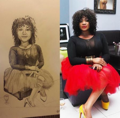Check out the hilarious comments on this Uche Ogbodo's drawing
