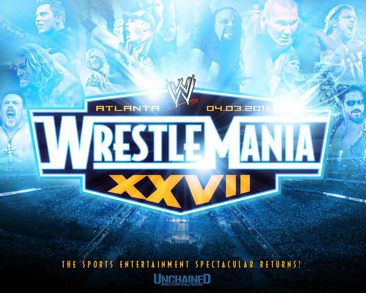 Resultados & Comentarios Wrestlemania XXVII - OTTR Wrestling