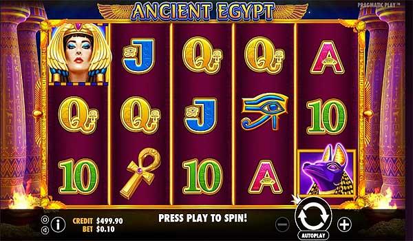 Main Gratis Slot Indonesia - Ancient Egypt (Pragmatic Play)