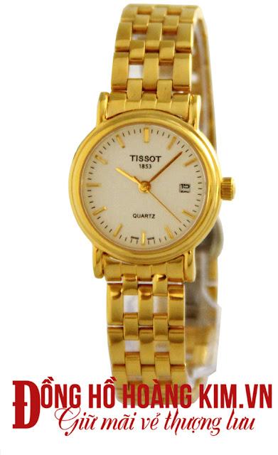 Đồng hồ đeo tay nữ tissot dây inox giá rẻ dưới 2 triệu tại Hà Nội
