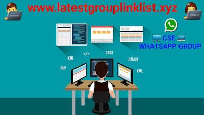 Computer Science Engineering WhatsApp Group Link: CSE Whatsapp Group
