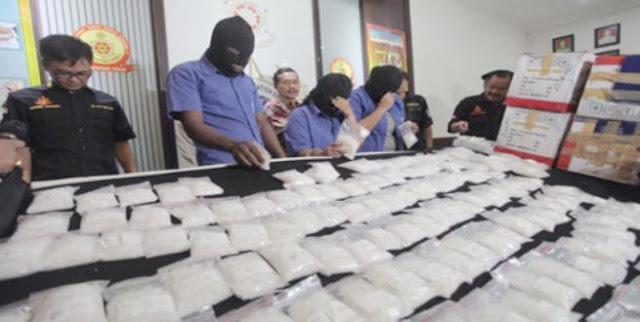 BNN Gagalkan Penyelundupan Sabu dengan Kemasan Teh China