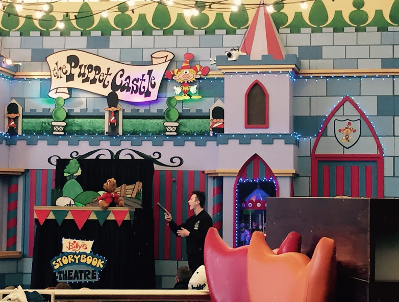 10 things to do at Butlin's Skegness when it's raining - puppet theatre