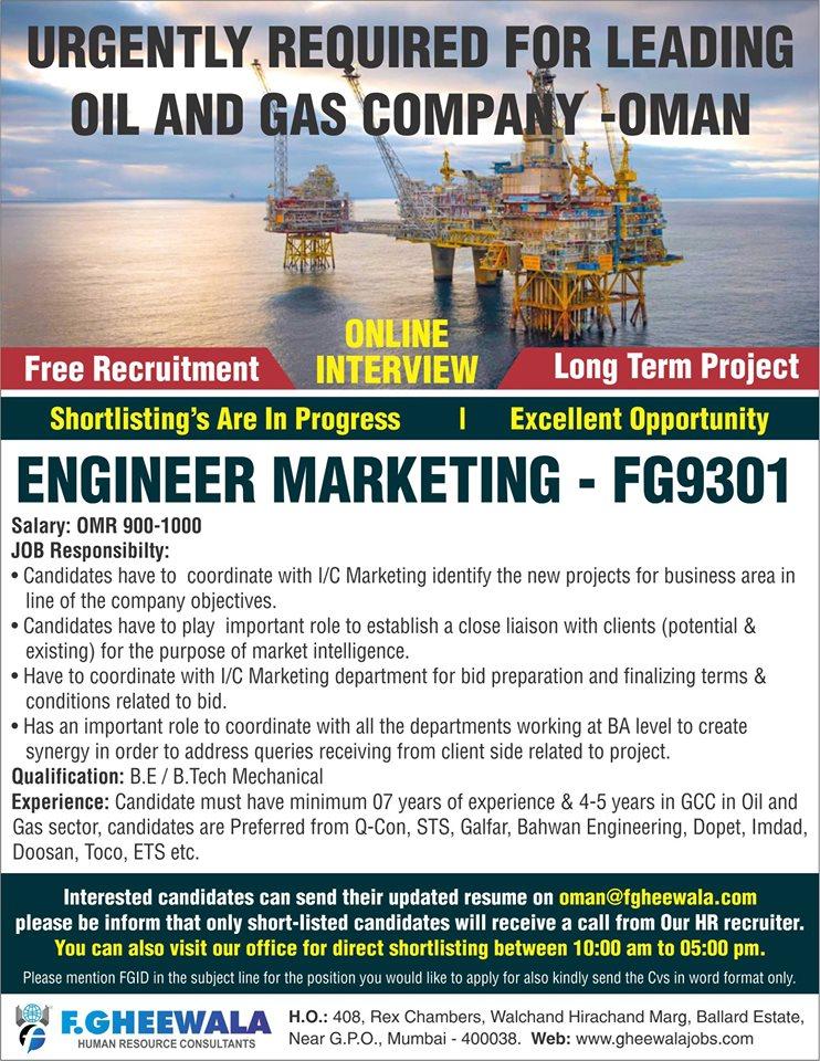 Oil & Gas Company in Oman