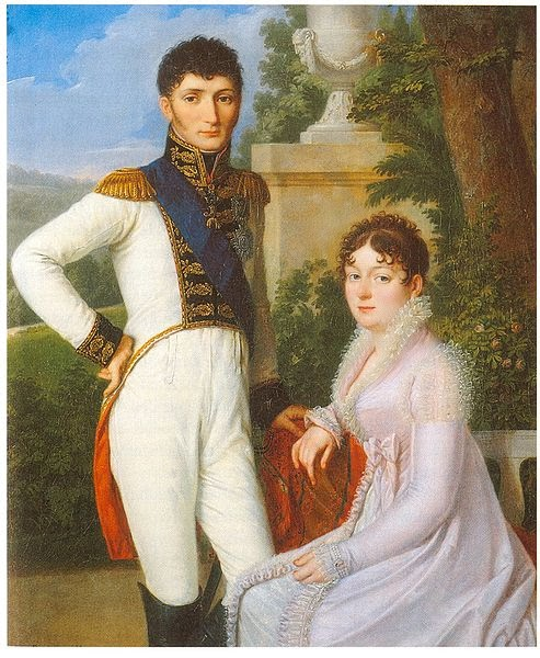 The King and Queen of Westphalia, 1810