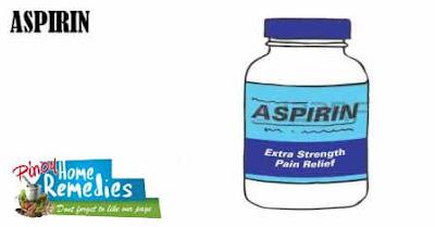 Home Remedies For Dandruff: Aspirin