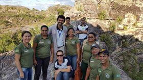 Pesquisadores do curso técnico em geologia do IFPB - Picuí realizam capacitação no parque nacional do Piauí