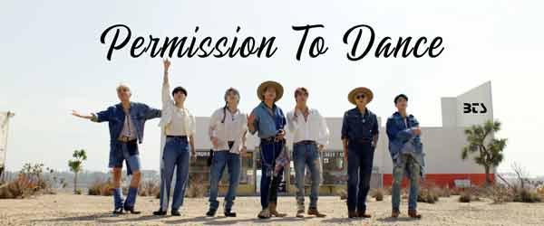 bangtan boys bts Permission To Dance song
