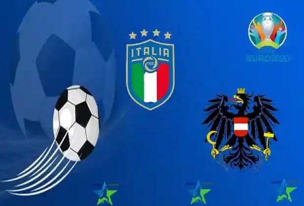 مباريات اليورو 2020,منتخب ايطاليا,منتخب النمسا