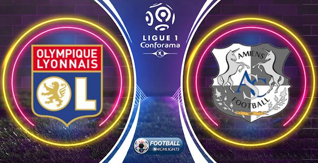 Olympique Lyonnais vs Amiens SC – Highlights