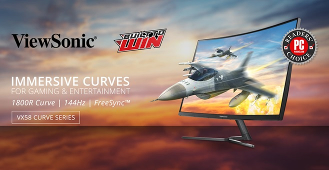 ViewSonic Outs New VX58 Curved Series Monitors