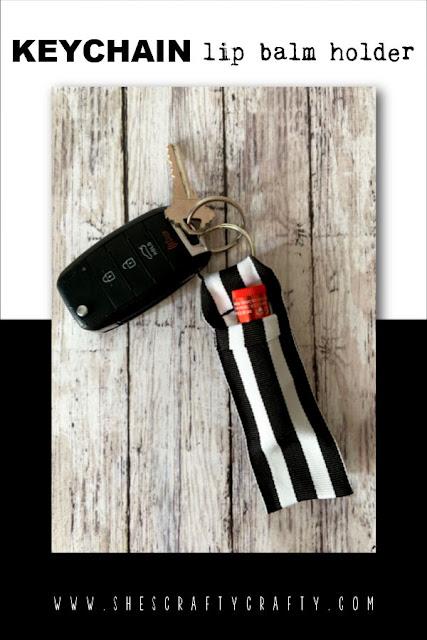 Keychain Lip balm Holder Pinterest Pin