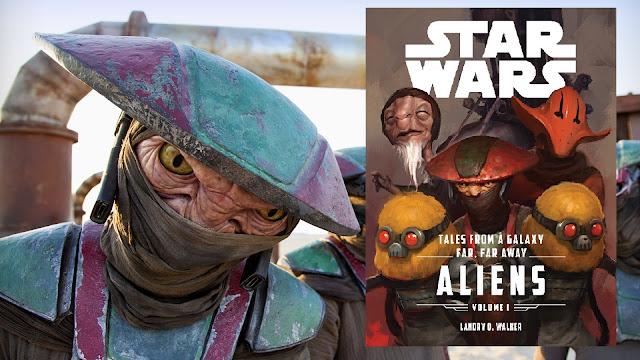 Recenzja - Star Wars: Tales from a Galaxy Far, Far Away: Aliens - Landry Q. Walker