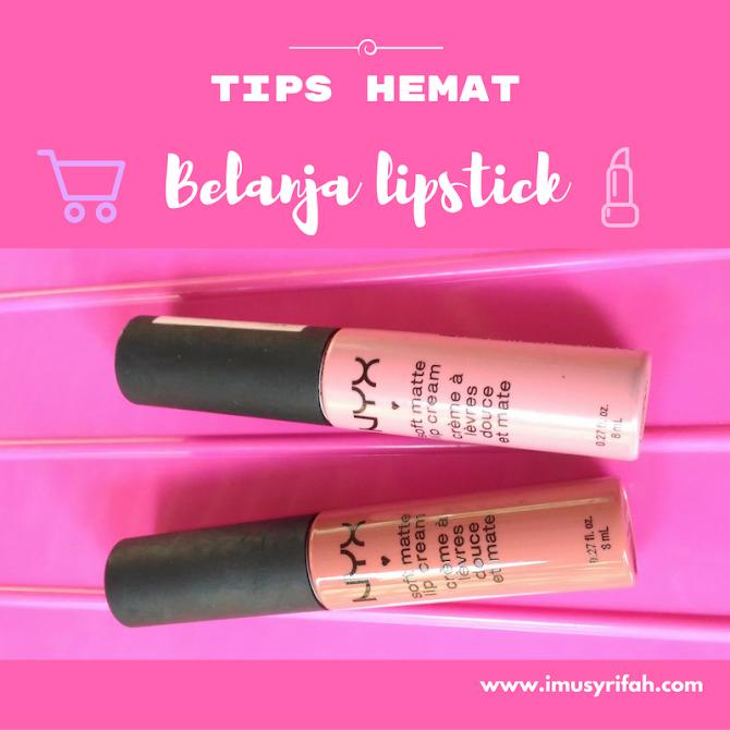 Tips Hemat Belanja Lipstik: Cek Harga Sebelum Membeli