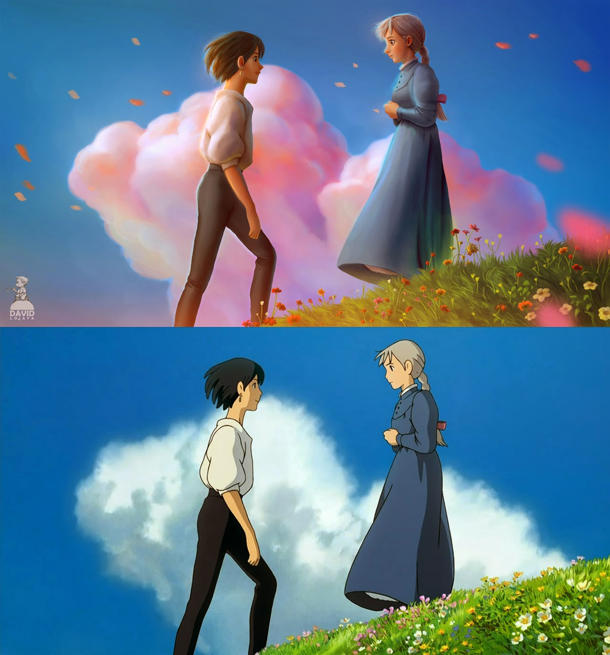 the art of david adhinarya lojaya howl s moving castle breakdown