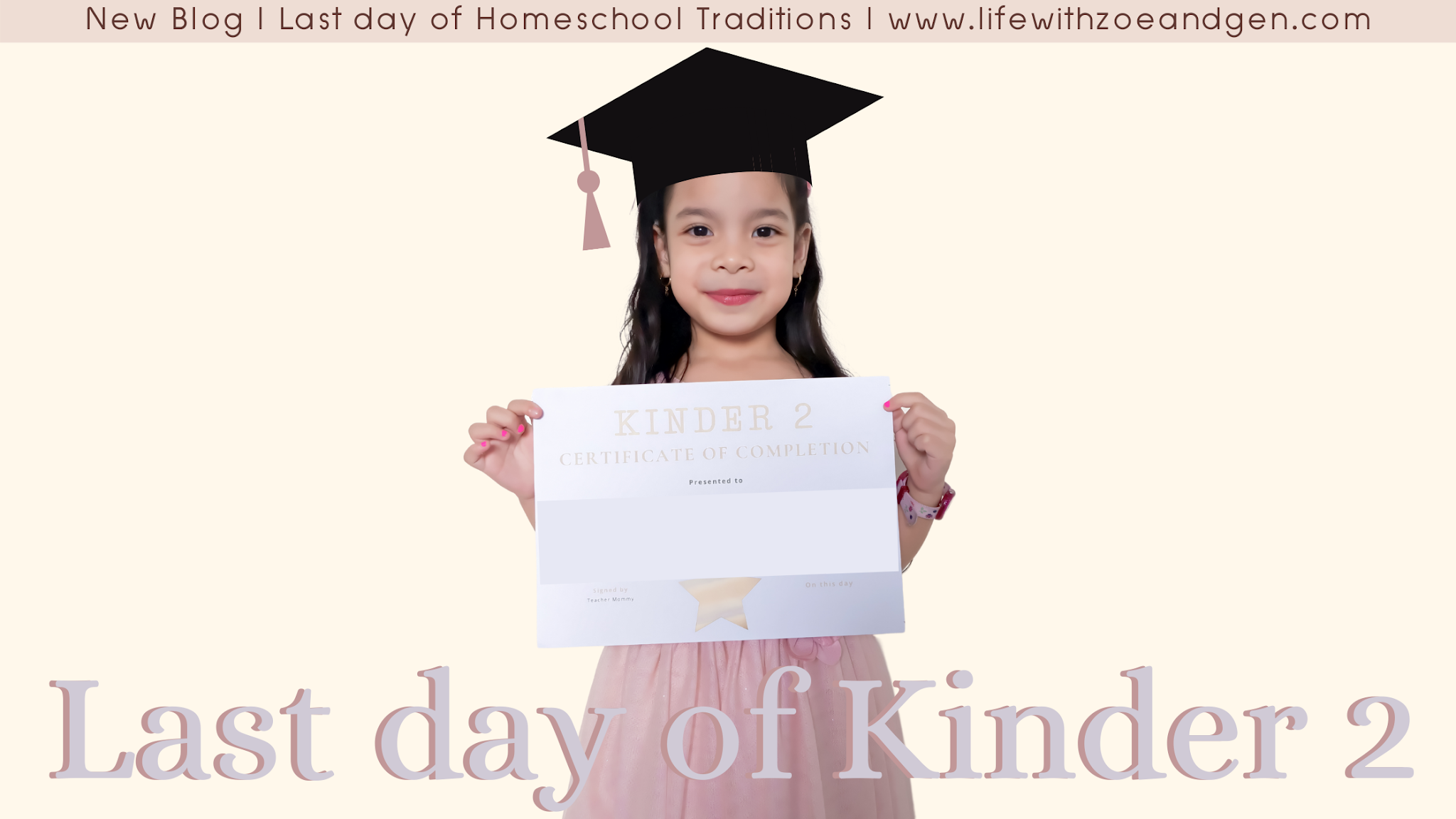 5 Last day of Homeschool Traditions l Life with ZG l Homeschooling Philippines l Gen Roraldo