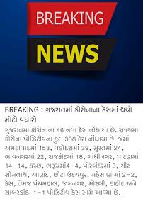 Gujarat corona update date 10-4-2020 10 A.M.