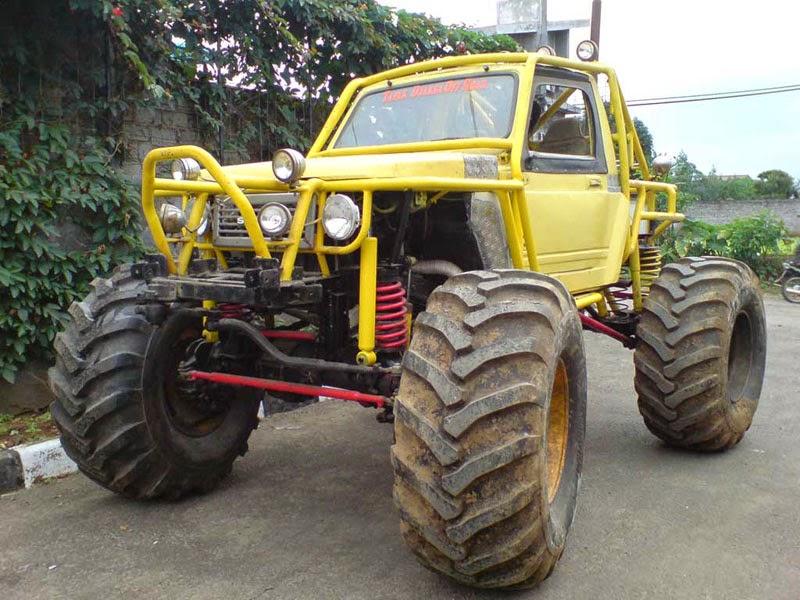 modifikasi mobil suzuki jimny sierra