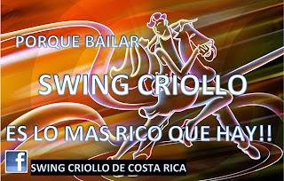 swing criollo de costa rica, sergio sarmiento swing criollo, patrimonio inmaterial de costa rica swing criollo,