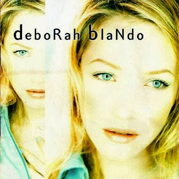 "Deborah Blando na capa do disco ""Unicamente"" (1997)"