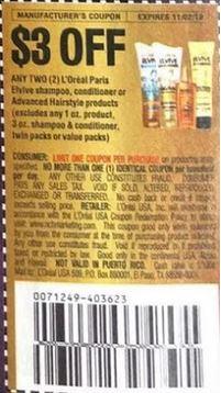 loreal insert coupon