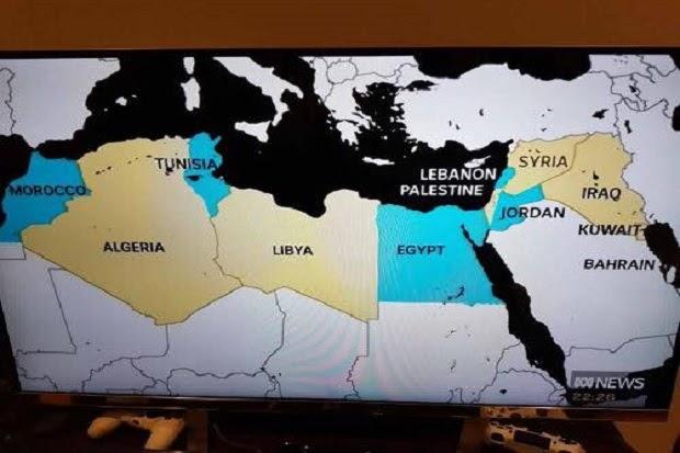 Negaranya Dihapus dari Peta Dunia, Aktivis Israel Marah