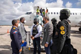 Algenis Contreras Bajo interrogatorio en territorio Dominicano