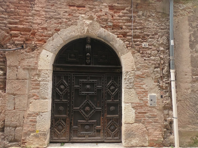 Old doorway, Cahors, Lot, France. Photo by Loire Valley Time Travel.