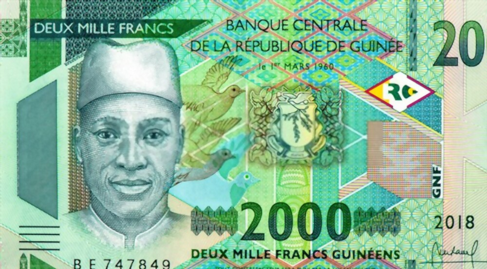 Guinean Franc: Cheapest currency in the world