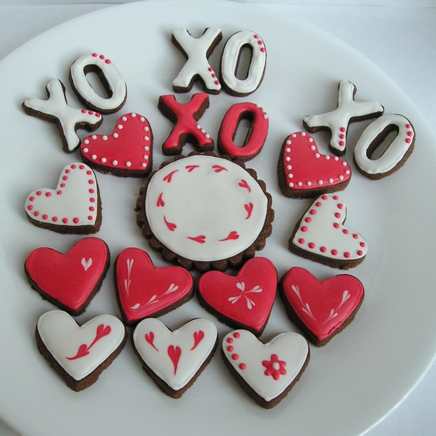 Sugar Dot Cookies Valentines Day Sugar Cookies