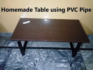 how to make beautiful table using pvc pipe