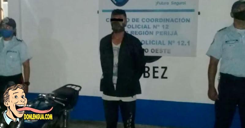 Detenido en Perijá tras haber abusado de su hermana de 12 años tras consumir marihuana
