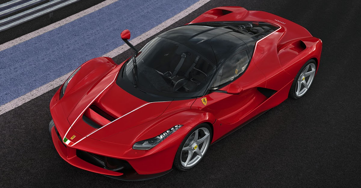 Central Auto Auction >> Final LaFerrari Sells For Record $7 Million In Charity Auction