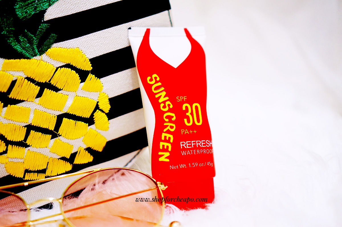 Review Miniso Sunscreen Refresh Waterproof SPF 30 PA++