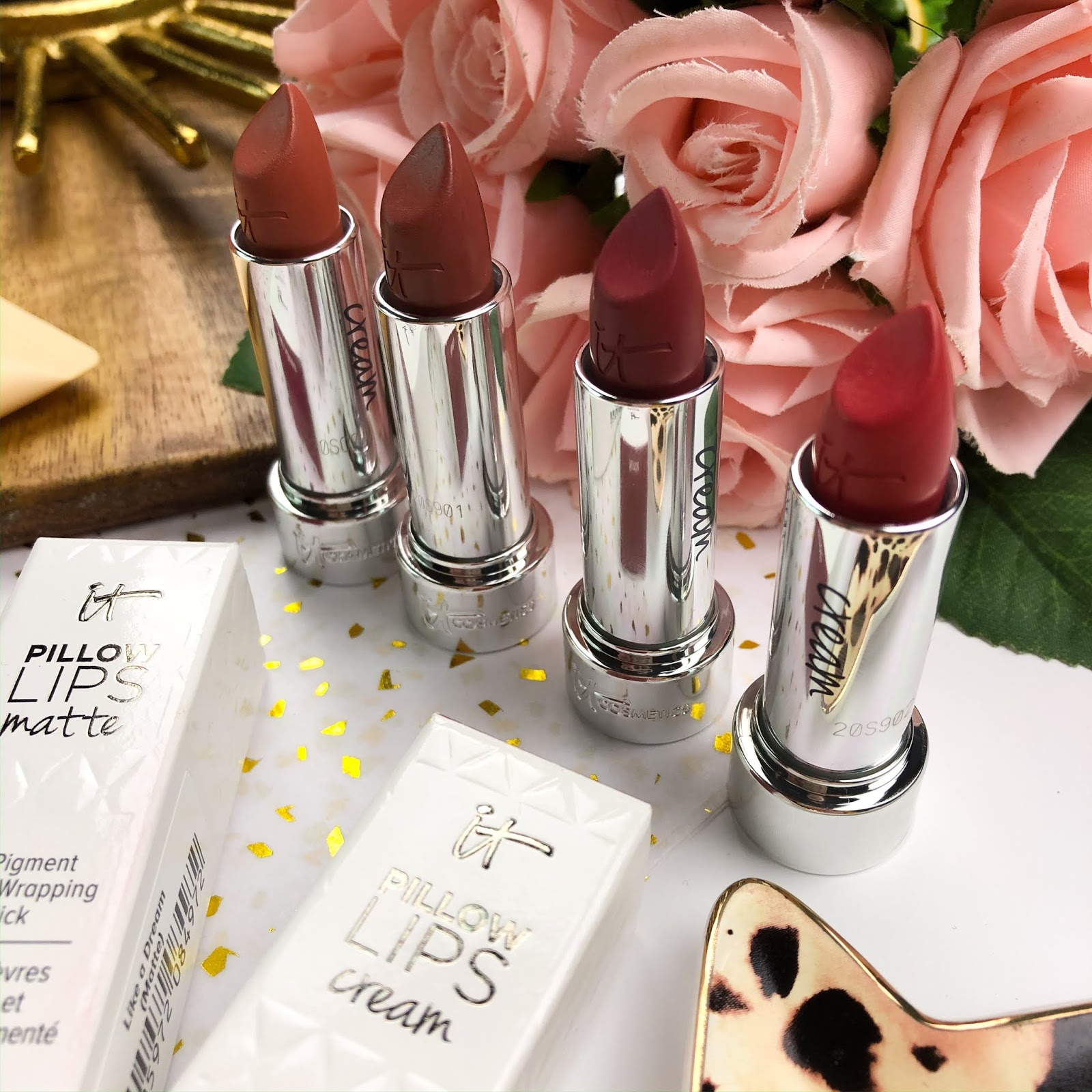 it cosmetics pillow lips lipsticks
