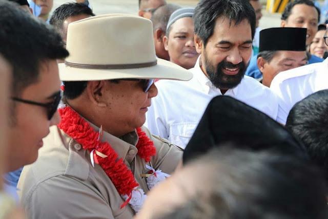 Eks Combatan GAM Marah Jokowi Serang Tanah HGU Prabowo