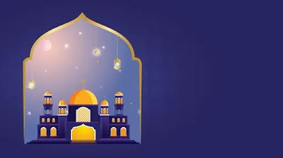 Free Desain Ramadhan PPT : Download Contoh Desain Flat Tema Ramadhan PowerPoint
