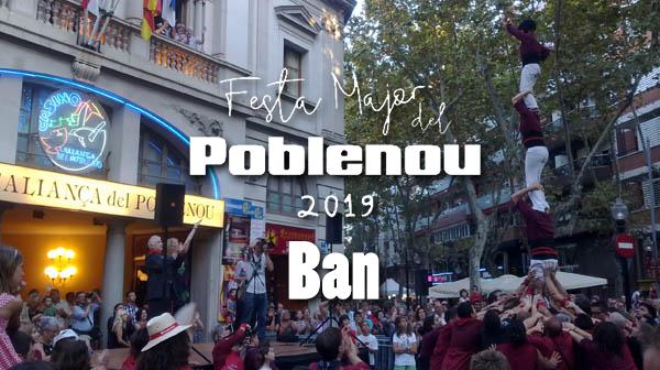 Descobreix el BAN de la Festa Major del Poblenou 2019