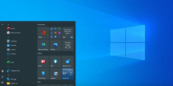 cara mengaktifkan start menu baru windows 10