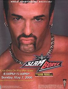 WCW Slamboree 2000 - Event poster