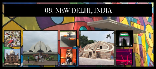 Worst to Best: Jarexit II: 8. New Delhi, India