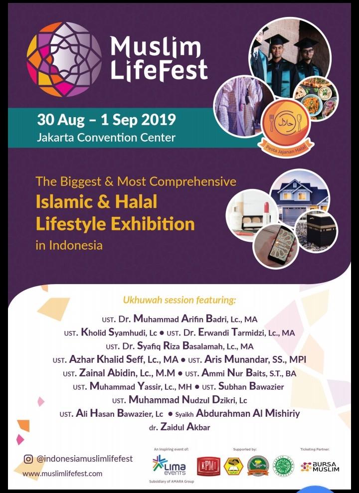 Muslim Life Fest Siap Dihelat, Ini Sisi Uniknya