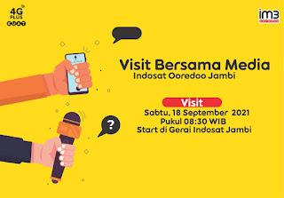 Penuh Cerita Di Raih Dengan Sukses Antara Tim KickOf Indosat Ooredeoo Jambi Bersama Media