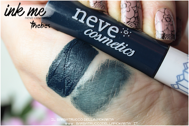 THEBES SWATCHES INKME EYELINER NEVE COSMETICS REVIEW RECENSIONE